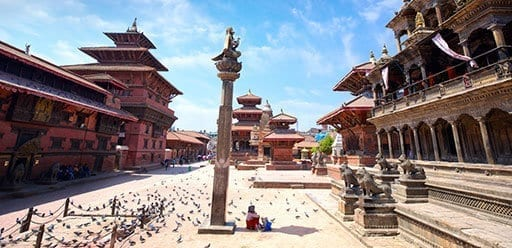 Durbar Square - Kathmandu's most spectacular legacy of traditional architecture