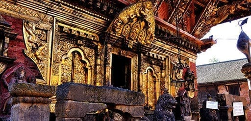 Golden Temple - Kwa Bahal - This unique Buddhist monastery is just north of Durbar Square