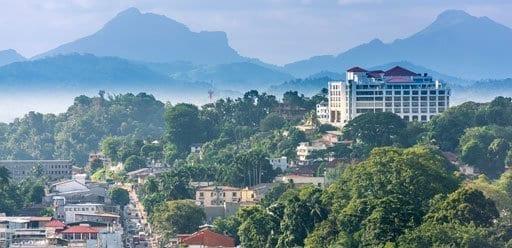 Kandy, the cultural capital of Sri Lanka