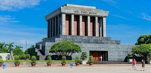 PMGY Volunteer Weekend trips in Vietnam to Ho Chi Minh Mausoleum Complex in Hanoi during their Volunteer work in Vietnam