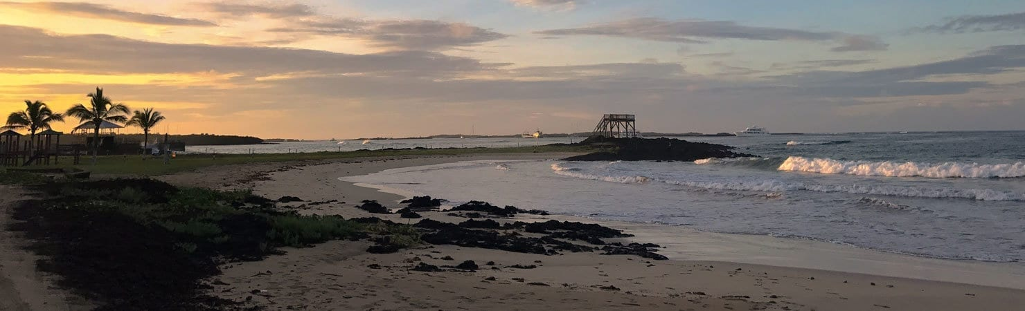 PMGY Volunteer Weekend trips in Costa Rica enjoying sunset at Jaco beach during their Volunteer work in Costa Rica
