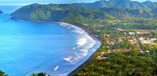 PMGY Volunteer Weekend trips in Costa Rica overlooking Jaco Beach during their Volunteer work in Costa Rica