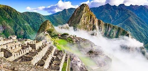 PMGY Volunteer Weekend trips in Peru hiking Machu Picchu during their Volunteer work in Peru