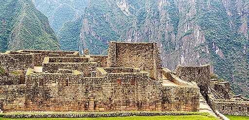 PMGY volunteer in Peru exploring Machu Picchu during their volunteer weekend trips in Peru