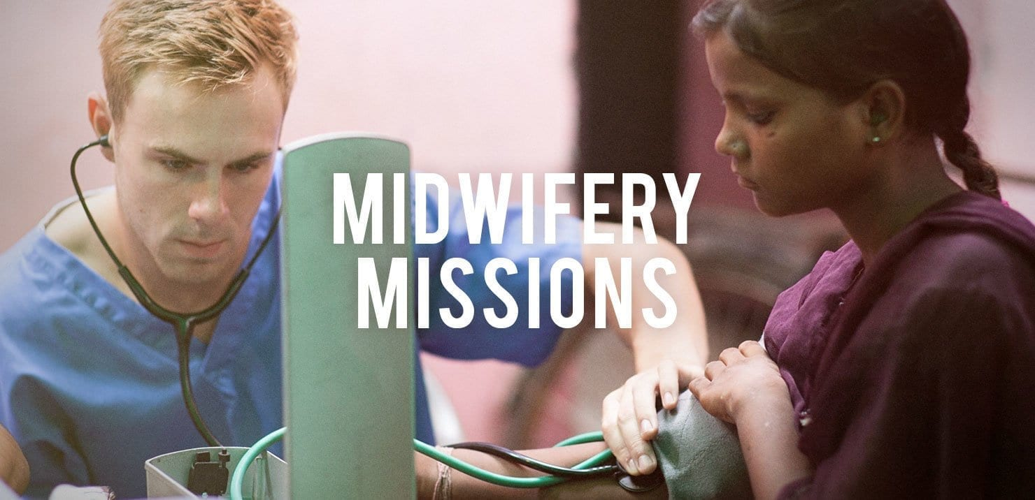 PMGY midwifery mission participant in Asia taking patient vitals on the Gap Year Volunteer Abroad Program