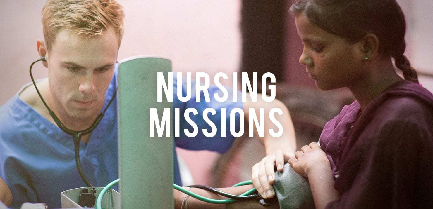 PMGY nursing mssion participant in Asia taking patient vitals on the Gap Year Volunteer Abroad Programs
