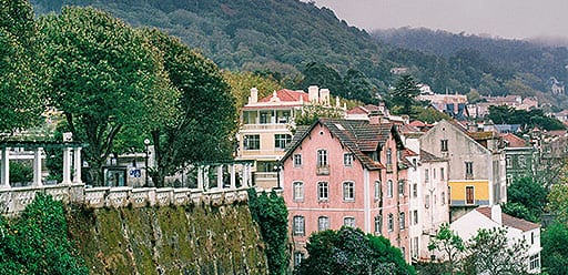 PMGY volunteer in Portugal visits the charming town of Sintra during a weekend trip