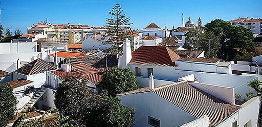 Volunteer in Portugal waking up to the historical town of Tavira