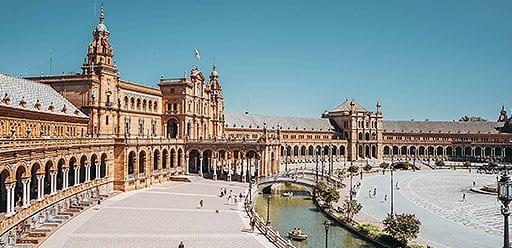 PMGY voluneer enjoying weekend away from volunteer work in authentic Seville