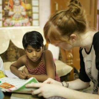 I came to teach them, but instead I am the one learning so much! 🙏💛🇮🇳  #pmgyindia #pmgyteaching #pmgy