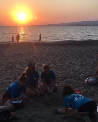 Fieldwork with a view! 😍  #pmgy #pmgygreece #kefalonia #turtleconservation
