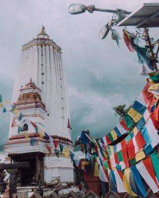 Postcards from Nepal 🇳🇵 🐒 Nepal was my first glimpse of Asia. I was so excited to visit my first Buddhist temple. This is Swayambhunath Stupa also known as Monkey Temple. How many monkeys can you spot in these pictures? 🐒 🐵  . . . . . . .  #travellife #travel #travelinspo #travelinspiration #travelblogger #travellingtheworld #letsgoeverywhere #traveleverywhere #travelblog #travelblogger #travelbloggerlife #travelcommunity #wanderlust #adventuretime #travelgram #lensbible #travelgrammer #haylsapresets #sheisnotlost #dametraveler #shetravels #planmygapyear #pmgynepal #pmgy #nepal #monkeytemple #asia #visitnepal #kathmandu #buddhisttemple #swayambhunath