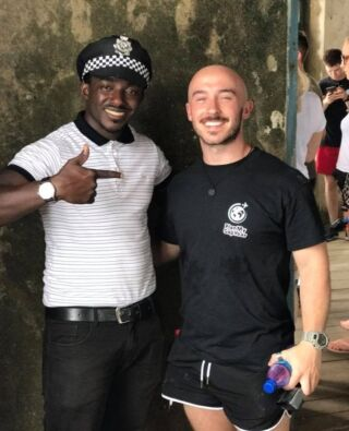 """""""Visiting Ghana has been the most surreal experience. I spent 8 weeks here in the volunteer house, and I wouldn't have changed it for the world. Excuse the cliche, but I really have made friends for life from the people I've met whilst in Ghana.""""  ❤️ Sam Barnard - Ghana English Teaching Volunteer ❤️  @sbarniiboob  #pmgy #pmgyghana #pmgyteaching"""