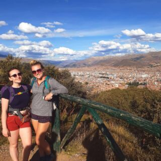 Day 4: I think I left a lung up by Cristo Blanco... • • • • • #cristoblanco #cusco #peru #exploring #hiking #highaltitude #mountains #pmgy #pmgyperu #planmygapyear #fit #views #prettyview #cityscape #afternoonwalks #afternoonhikes