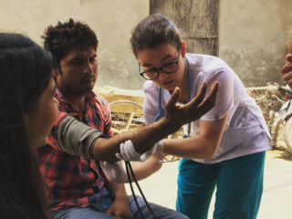 See one, do one, teach one 🇮🇳 #pmgy #pmgyindia #pmgymedical #medicalvolunteers #beinguseful #india #day313