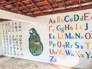 HOW AMAZING DOES THIS LOOK?? . Who remembers our post in December of our renovation volunteers building this preschool?🙋🏽♀️ Now the building is complete, volunteers have been doing some amazing work with their paintbrushes 🎨 . We can't wait to show you the outside before and afters! Keep an eye out 👀 . #pmgyrenovation #pmgycommunity #volunteerabroad #pmgychildcare #pmgysrilanka #renovation #pmgy