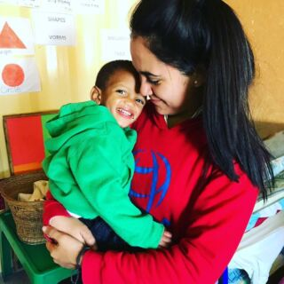 """If you think my hands are full, you should see my heart."" ❤️🇿🇦⁣⠀ .⁣⠀ #pmgy #pmgysouthafrica #pmgychildcare⁣"