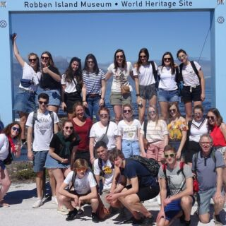A big thanks to the team @collegewaregem who recently joined one of our school trip programmes in South Africa 💙🇿🇦⁣⠀ .⁣⠀ Your passion and commitment was inspiring from start to finish! ⁣⠀ .⁣⠀ #pmgy #giveback #adaptabletravel #teachersofinstagram #teacherlife #capetown